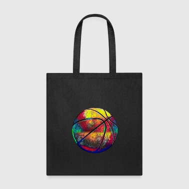 Hawaii Basketball Ball Sport Fan Design Colored - Tote Bag