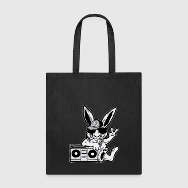 Ghetto-blaster Hip Hop Bunny Ghetto Blaster 90s - Tote Bag