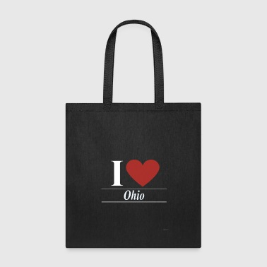 Obama I Love Ohio - Tote Bag