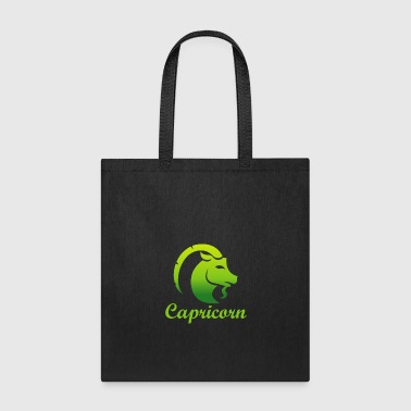 Astrology Capricorn Earth Sign Graphic Zodiac Birthday Gift Idea Horoscope Design - Tote Bag