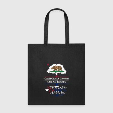 United California Grown with Cuban Roots - Tote Bag