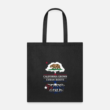 Democrat California Grown with Cuban Roots - Tote Bag