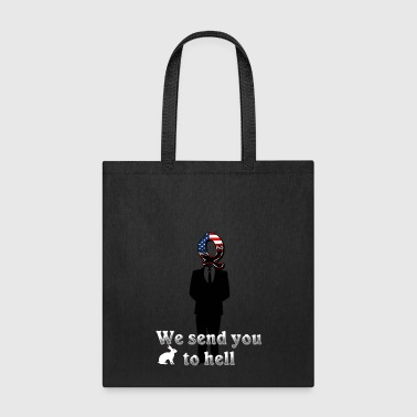 Matrix We send you to hell - Tote Bag