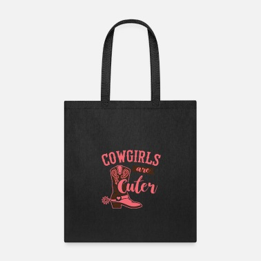 Stallion Cowgirls are Cuter - Tote Bag