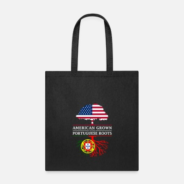 Pride American Grown with Portuguese Roots Portugal Design - Tote Bag