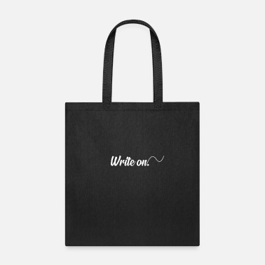 Writing Write On - Tote Bag
