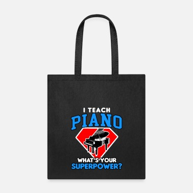 Piano piano - Tote Bag