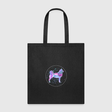 Dog Norwegian Lundehund Watercolor Dog Art Gift - Tote Bag
