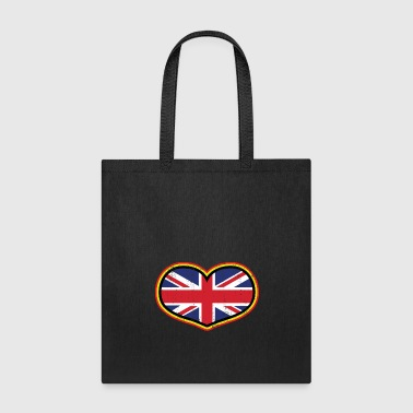 Country Heart Great Britain Gift Christmas Love Country - Tote Bag