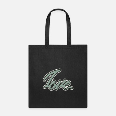Tag Love tag graffiti tagging tagged gift christmas - Tote Bag