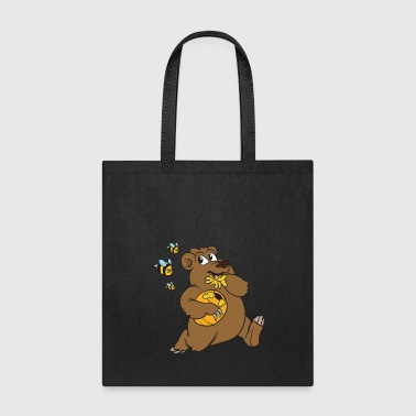 Cool Cool Funny Cute Brown bear Teddy Bear - Tote Bag