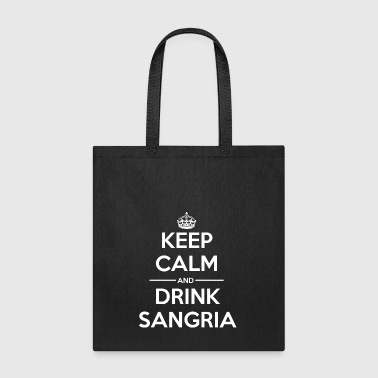 Drinks Keep calm Sangria - Tote Bag