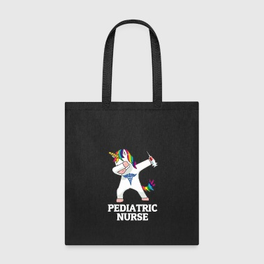 Dabbing Unicorn Pediatric Nurse - Tote Bag