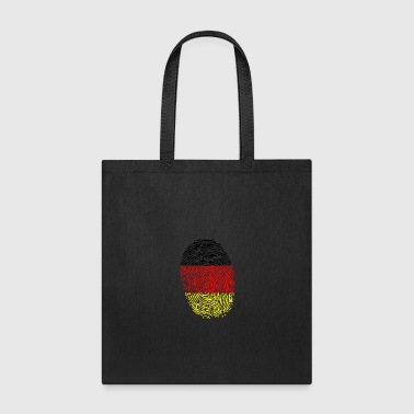 German Fingerprint - Tote Bag