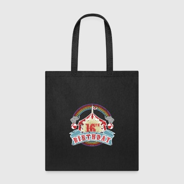 School Carnival 16th Birthday Party - Tote Bag