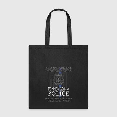 Pennsylvania Police Support Peacemakers Police Mom Shirt - Tote Bag