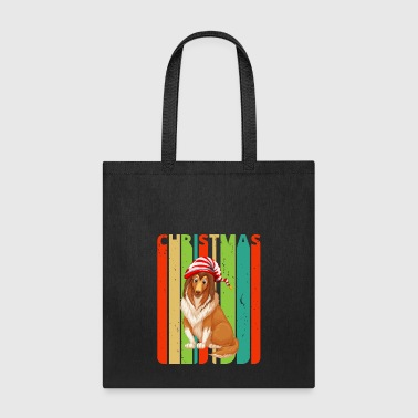Lassie Retro Christmas Gifts for family & friends. Dog - Tote Bag