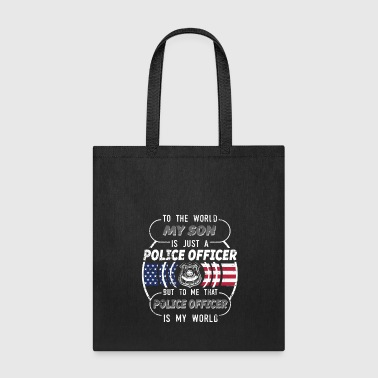 Police My Son Is A Police Officer Police Mom Police Dad - Tote Bag
