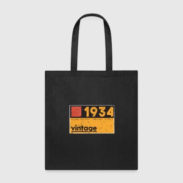 Music Engineer 1934 Vintage Cassette Birthday Shirt - Tote Bag