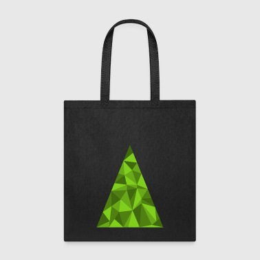 Christmas tree funny spruce New Year vector image - Tote Bag