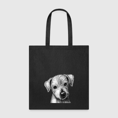 Rainbow puppy - Tote Bag