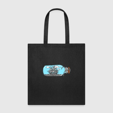Ship Pirate Pirateship Sailing Boat Fisherman Gift - Tote Bag