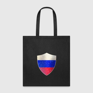 Shield Russia Flag Shield - Tote Bag