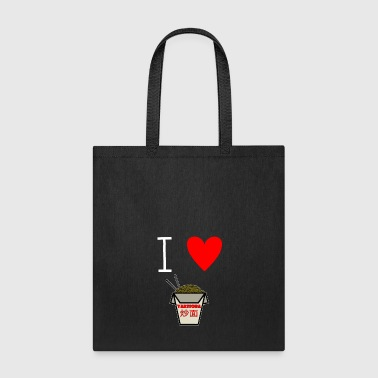 I Love Noodles - I love pasta - Tote Bag