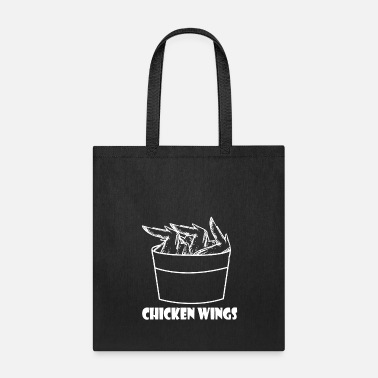 Fried Chicken Chicken Wings - Chicken - Tote Bag