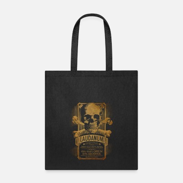 Opium Laudanum Goth Steampunk Medical Doctor - Tote Bag