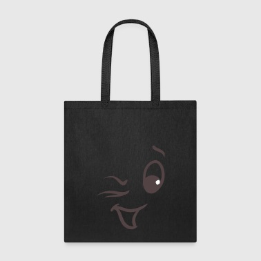Winking face - Tote Bag