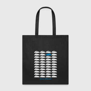 Beetle Car - Drive different - Tote Bag
