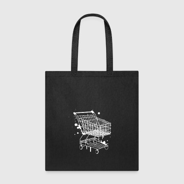 Shopping Cart Graffiti - Tote Bag