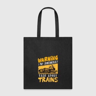 Freight Train Freight Trains Locomotive Steam railway Railroad - Tote Bag