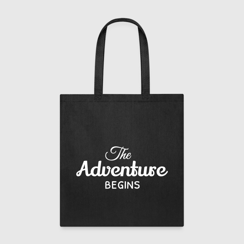 the adventure begins - Tote Bag
