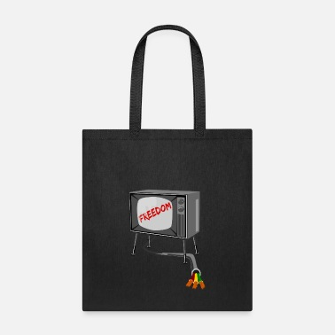 Television Television Freedom - Tote Bag