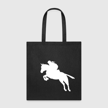 show jumping equestrian - Tote Bag