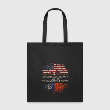 american grown with taiwanese roots vintage - Tote Bag