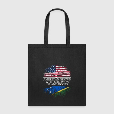 american grown with solomon island roots original - Tote Bag