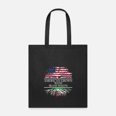 Iran American grown with irani roots original - Tote Bag