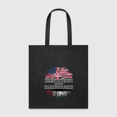 American Eagle American grown with palestinian roots original - Tote Bag