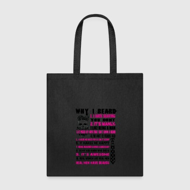 beard - Tote Bag