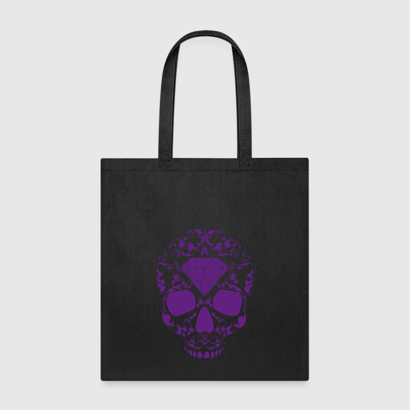 Diamond Skull - Tote Bag