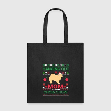 Chowchow Ugly Christmas Sweater Xmas Gift - Tote Bag