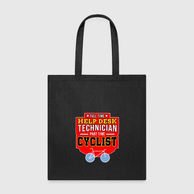 Linux Help Desk Technician Cyclist Bike Bicycle Bmx Gift - Tote Bag