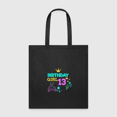 Fairy Tail 13 Birthday Girl thirteen 13th Birthday Boy Girl Kids - Tote Bag