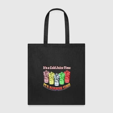 it's a cold juice time - Tote Bag