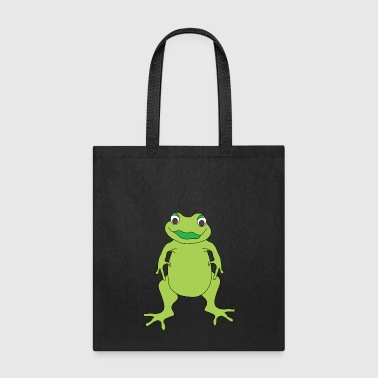 Toad Standing Frog - Tote Bag