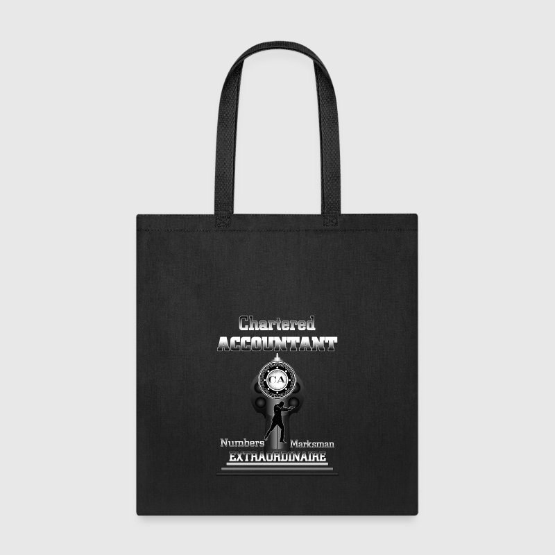 Chartered Accountant Extraordinaire Mens T-Shirt - Tote Bag
