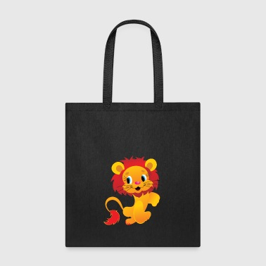 Isolated isolated lion - Tote Bag